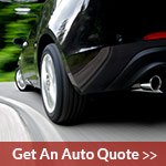 car driving for an auto quote from elgin south insurance agency